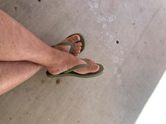 Simple Shoes  Echo Beach Flip Flop - Green Review