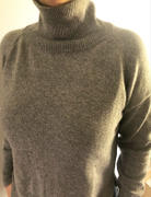 Carmen Candela Turtleneck Sweater - Cashmere Casual Pullover Review
