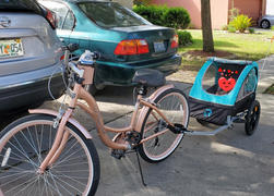 Retrospec Rover 1 Passenger Child Bike Trailer Review