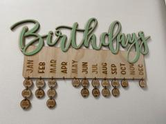 Carlie Rees Custom Designs Mirror & Glitter Birthday Hanger 500mm wide - FREE SHIPPING Review