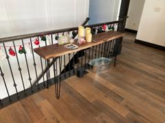 Artisan Born 6ft Handmade Live Edge Walnut Console Table Review