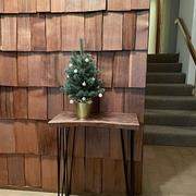 Artisan Born Custom-Made Live Edge Walnut Console Table - Defining Handmade Furniture Review