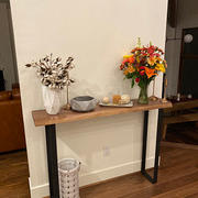 Artisan Born Live Edge Walnut Entryway Table - 36 inches tall Review