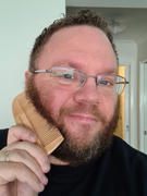The Bearded Stag Stag Supply Wooden Beard Comb Review