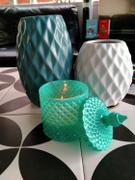 Augustine Brand Small Teal Strawberries & Creme Candle Review