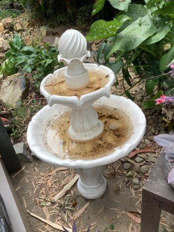 Fountainland Solar Powered Ivory 3-Tier Water Fountain - 90cm Review