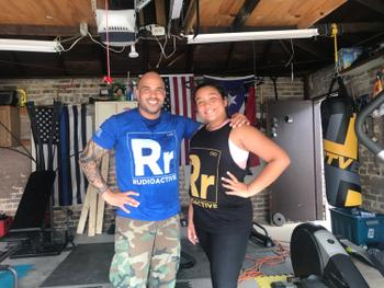 Sunga Life Rudioactive Rudy Reyes Force Blue Tank Top | Sunga Life Review