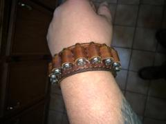 Cold Dead Hands  Six Shooter Genuine Leather Bracelet Review