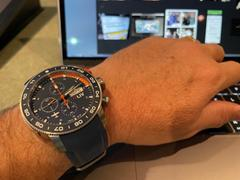 LIV Swiss Watches LIV P-51 Titanium Chrono Blue / Orange Review