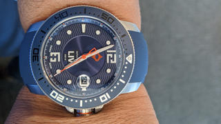 LIV Swiss Watches 44MM LIV GX Ceramic Diver's Rose Gold Gray Review