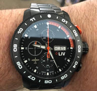 LIV Swiss Watches LIV P-51 Black Titanium Chrono Black / Orange Review