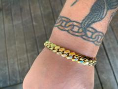 IF & Co. Gold Cuban Link Bracelet (9mm) Review