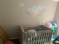 Schmooks  Sleepy Moon Wall Sticker - Blues Review