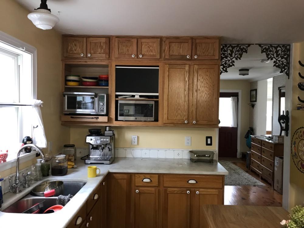 Wall Cabinet 24x12 Oak -KITCHEN