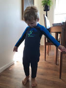 O'Neill Australia Reactor II 2mm Toddler Steamer Wetsuit - Slate Review