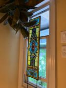 XoticBrands Home Decor Blackstone Hall Stained Glass Window Review