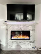 Modern Blaze Touchstone Sideline Elite Recessed Electric Fireplace Review