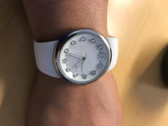 Philip Stein Alpine White Ladies Watch, Small Mother-of-Pearl Dial Review