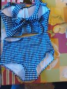 Pavacat Vintage Plaid High-Waisted Bikini Set Review