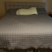 Southshore Fine Linens Ultra-Soft Reversible Circle Embroidered Quilt Set Review