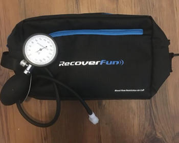 RecoverFun RECOVERFUN AIR CUFF WITH PUMP DESIGNED FOR BLOOD FLOW RESTRICTION TRAINING(BFR TRAINING) Review