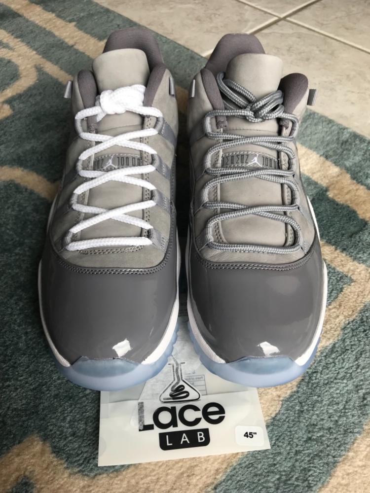 Cool Grey - XI Rope Laces