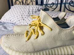 Lace Lab Yellow/White Rope Laces - 45 Review