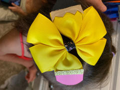CN Hair Accessories Girls BACK TO SCHOOL Pencil Hair Bows Review