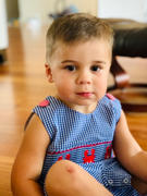 Stitchy Fish Cute and Crabby Smocked Jon Jon Review