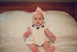 Stitchy Fish Pretty in Pink Mouse Smocked Diaper Set Review