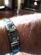 HappyLaulea Tugnsten Carbide 13mm Bracelet with Abalone Shell Inlay Review