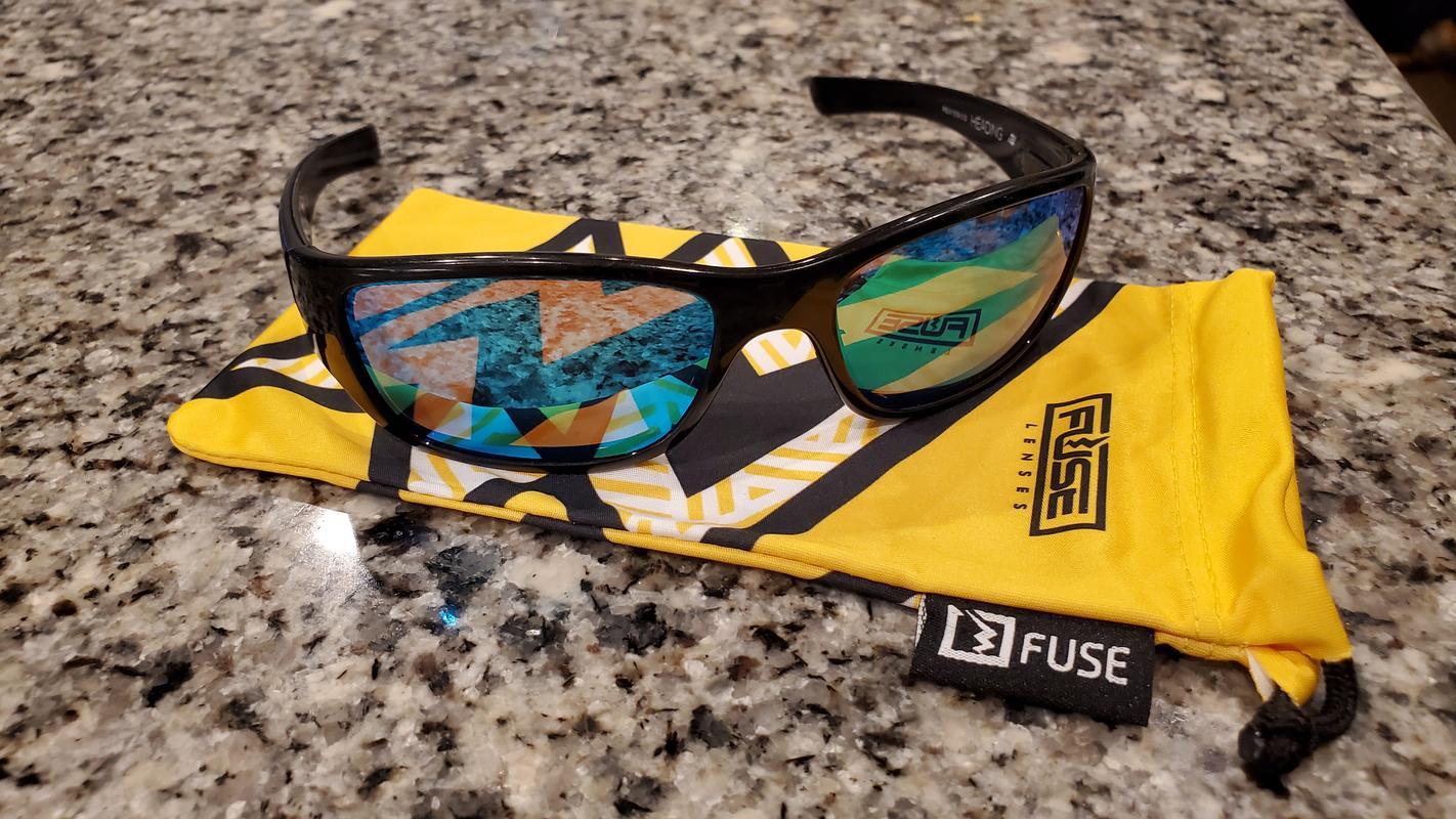 Fuse Lenses Polarized Replacement Lenses for Revo Heading RE4058