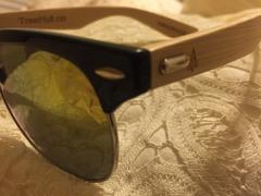 Treehut Wooden Sunglasses // Sailor 73 Review