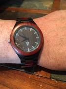 Treehut Classic Black Stainless Redwood Theo - Watch Alone Review