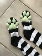 ToeBeanies PREORDER CUSTOM COLOR Black & White Striped ToeBeanies Review