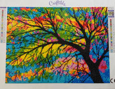 Craftibly Stained Glass Tree Review