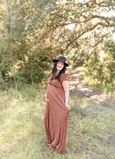 Baltic Born Athena Bronze Pleated Maxi Dress Review