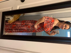 Baltic Born Marion Red Print Maxi Dress Review