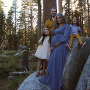 Baltic Born Lydia Slate Blue Maxi Dress Review