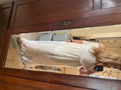Baltic Born Caroline Lace Maxi Dress in Off White Review