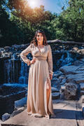 Baltic Born Lola Nude Shimmer Maxi Dress Review