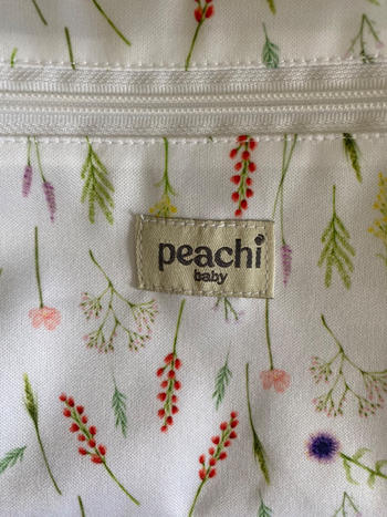 Peachi Baby Imogen Floral Reusable Nappy Bag Review