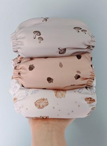 Peachi Baby Woodland Creatures Reusable Nappy Set Review
