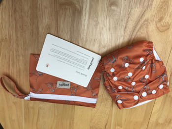 Peachi Baby Fox Forest Reusable Nappy Set Review