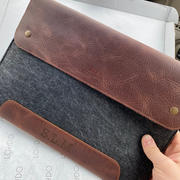 MegaGear Store MegaGear Fine Leather and Fleece Sleeve Bag for MacBook Pro, MacBook Air and iPad Case Review