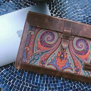 MegaGear Store Londo Genuine Leather Sleeve Bag, Bohemian Bag for MacBook Pro - 15 and 16 Inch Inch Review
