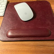 MegaGear Store Londo Top Grain Leather Mouse Pad with Wrist Rest Review