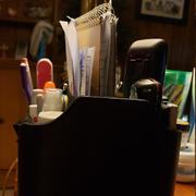 MegaGear Store Londo Leather Remote Control Organizer and Caddy with Tablet Slot Review