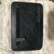 MegaGear Store Otto Angelino Italian Leather Minimalist Men Wallet - Slim, Credit Card Holder - Zippered Coin Slot - RFID Blocking Review