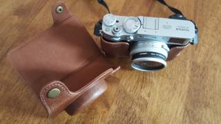 MegaGear Store MegaGear Fujifilm X100V Ever Ready Genuine Leather Camera Case Review